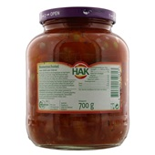 Hak Bonenschotel Chili Con Carne achterkant