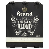Brand Bier Zwaar Blond 6X30CL voorkant