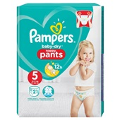 Pampers baby dry pants luierbroekjes 5 Junior