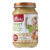 Bonbébé Baby/Peuter Fruithapje Abrikoos, Appel, Peer Met Koek