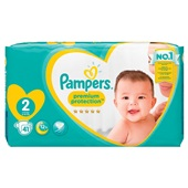 Pampers premium protection luiers new baby maat 2