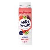 Melkunie Milk & Fruit Aardbei kers