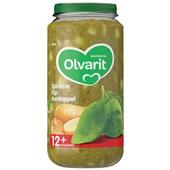 Olvarit Baby/Peuter Maaltijd Spinazie, Kip En Aardappel