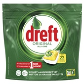 Dreft vaatwastabletten Original Lemon