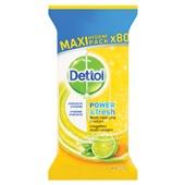 Dettol Citrus doekjes 80 stuks
