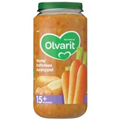 Olvarit Baby/Peuter Maaltijd Wortel, Kalfsvlees En Aardappel