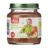 Bonbébé Baby/Peuter Maaltijd Menu Bruine Bonen En Appel