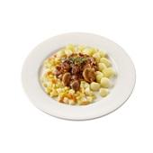 Culivers (117) varkensstoofpotje, groentemix en mini krieltjes zoutarm