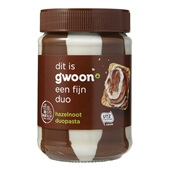 Gwoon Duopasta Hazelnoot