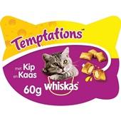 Whiskas Kattensnack Temptations Met Kip En Kaas