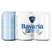 Bavaria Wit Bier Blik 0,0 % 6X33 Cl