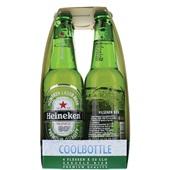 Heineken Pils Coolbottle 4-pack achterkant
