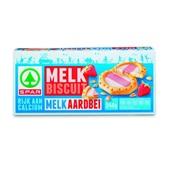 Spar Melkbiscuits Melk-Aardbei