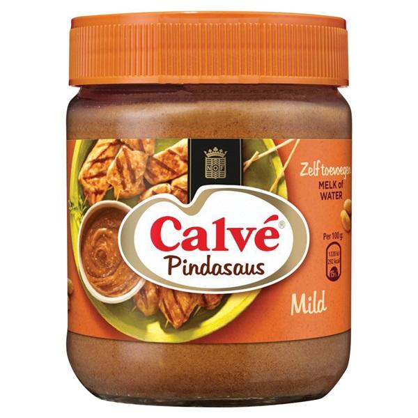 Calvé SatéSaus voorkant