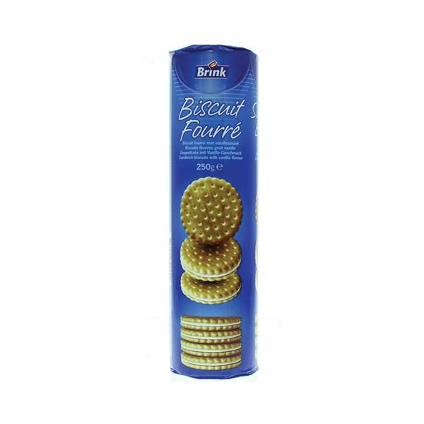 CB Koek Chocolade Fourré Vanille voorkant