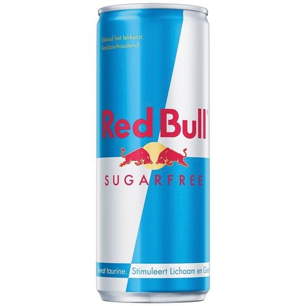 Red Bull Energiedrank Sugar Free voorkant