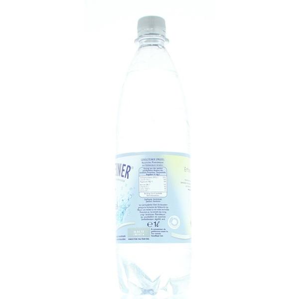 Gerolsteiner Mineraalwater Sprudel achterkant