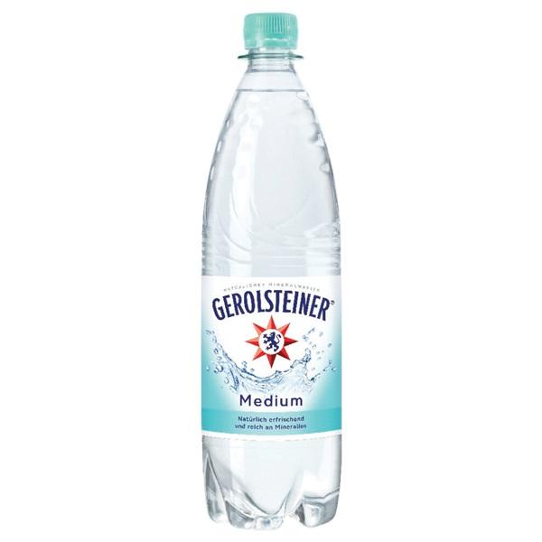 Gerolsteiner Mineraalwater Medium voorkant
