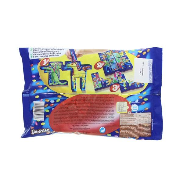 Smarties Chocolade Mini's achterkant