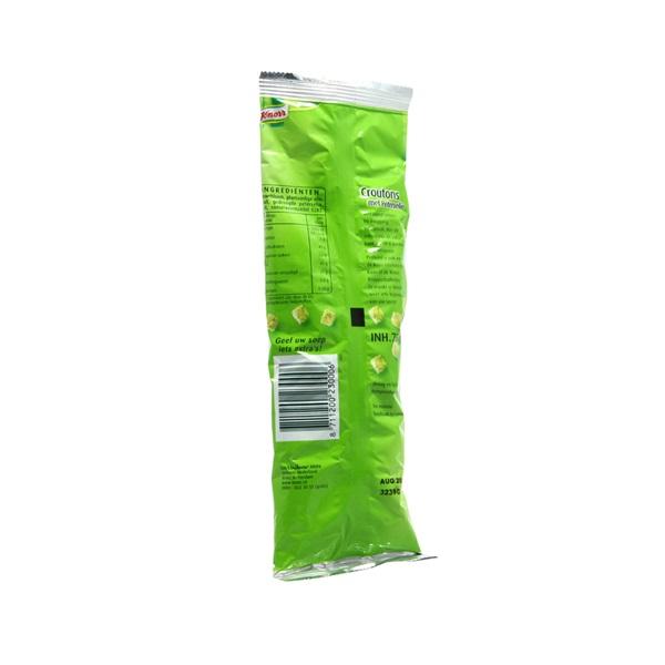 Knorr Croutons Peterselie achterkant