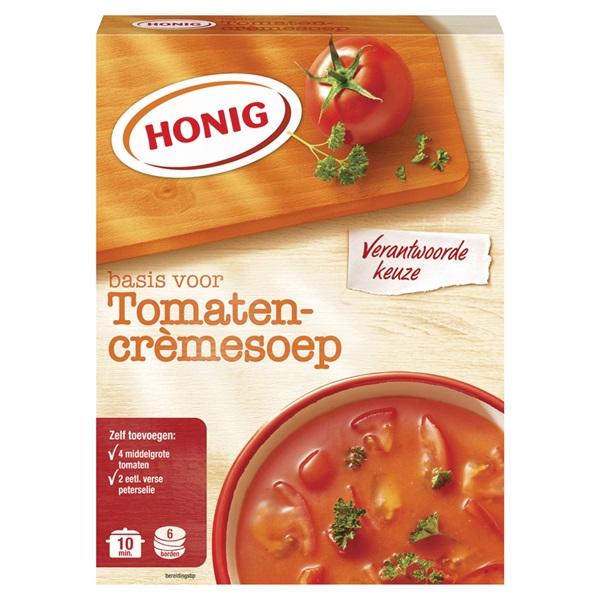 Honig Tomatencremesoep voorkant