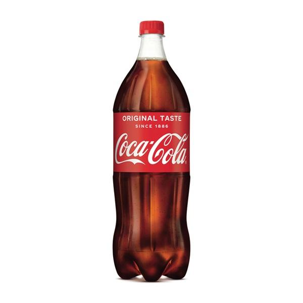 Coca Cola regular voorkant