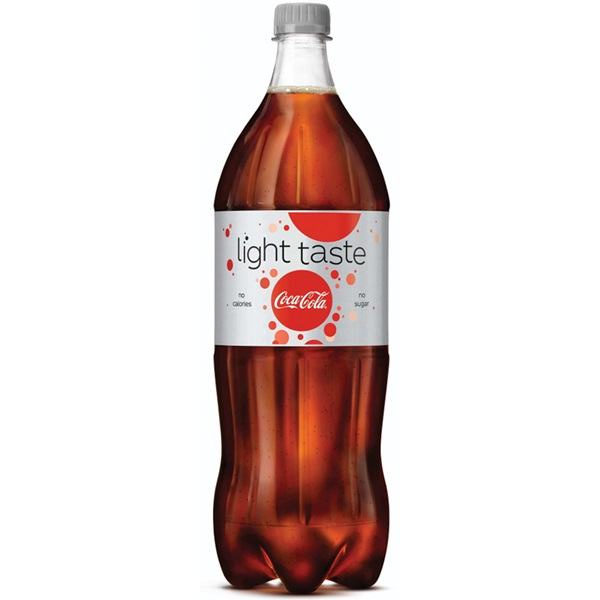 Coca Cola Light voorkant