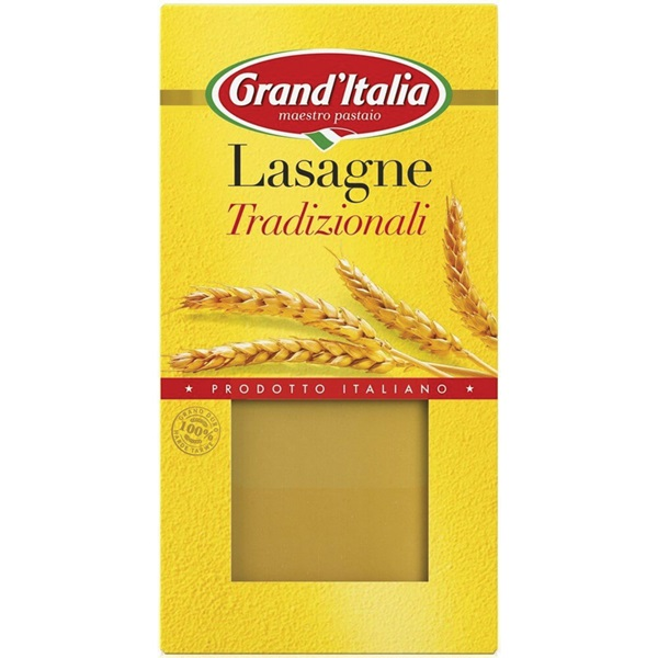 Grand'Italia Lasagne Naturel voorkant