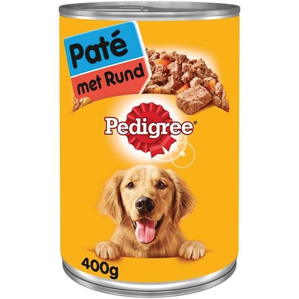 Pedigree Hondenvoer Paté Met Rundvlees voorkant