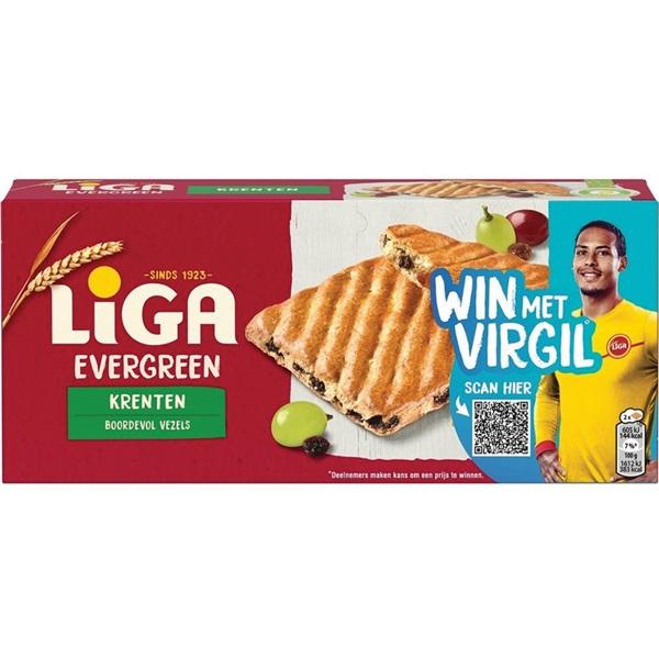 Liga Evergreen Tussendoor Krenten voorkant
