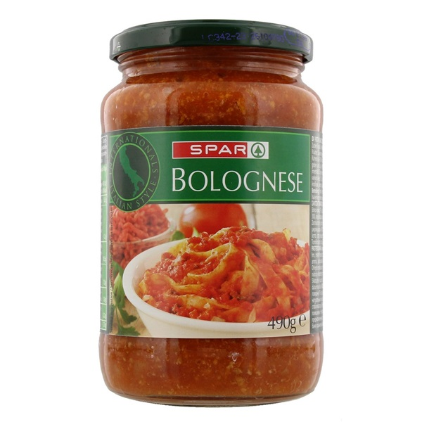 Spar Pastasaus Bolognese voorkant