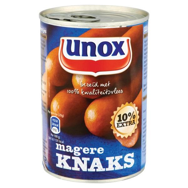 Unox Knakworst Mager achterkant