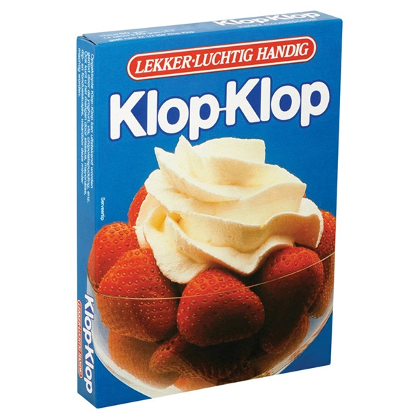 Campina Klop-Klop achterkant