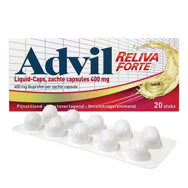 Advil liquid caps voorkant
