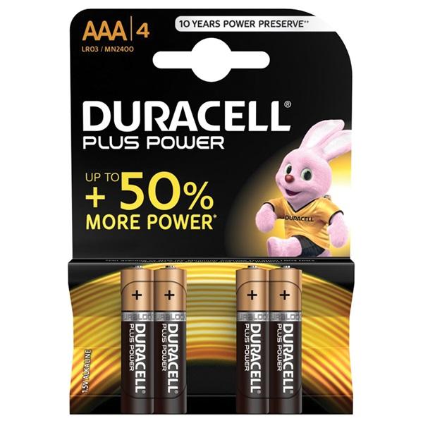 Duracell Plus Baterijen AAA voorkant