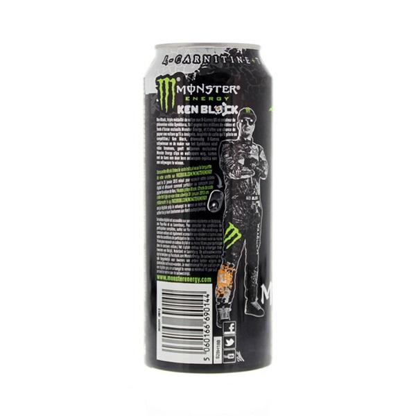 Monster Energiedrank High Energy achterkant