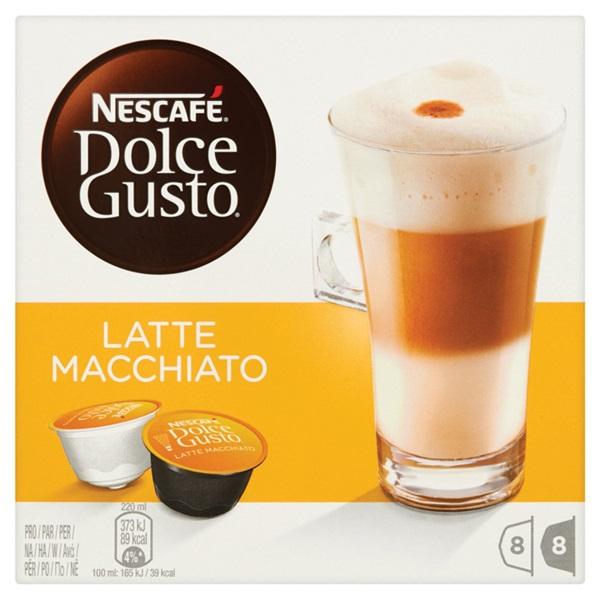 Nescafé Dolce Gusto Koffie Latte Macchiato voorkant