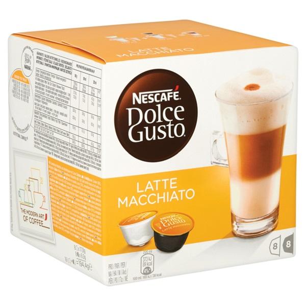 Nescafé Dolce Gusto Koffie Latte Macchiato achterkant