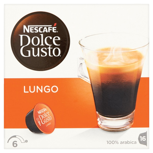 Nescafé Dolce Gusto Koffie Lungo voorkant