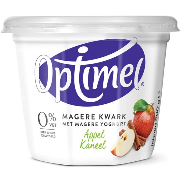 Optimel Kwark Appel/Kaneel voorkant