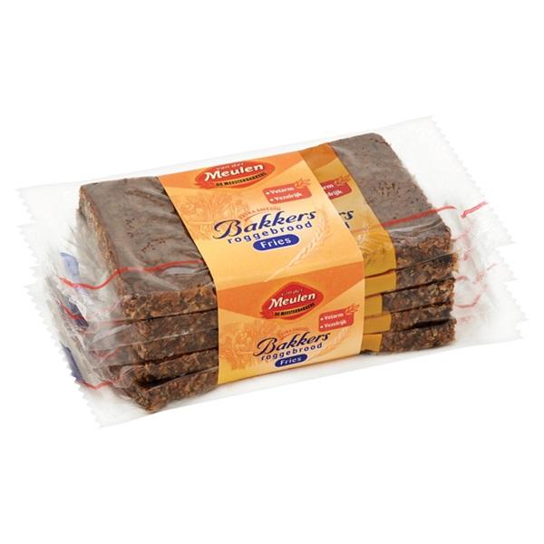 Van der Meulen Roggerbrood Per stuk verpakt achterkant