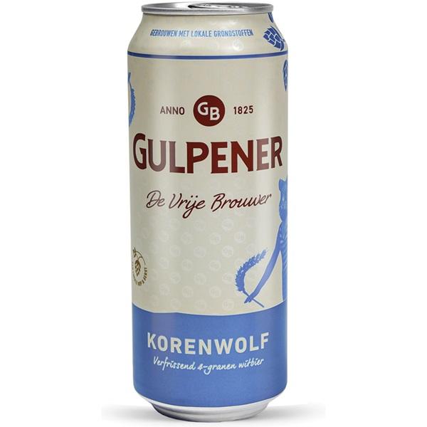 Gulpener Speciaalbier Korenwolf Blik voorkant