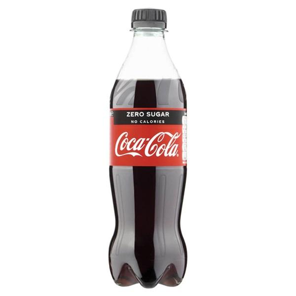 Coca Cola Zero Fles 500 Ml voorkant