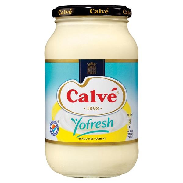 Calvé Mayonaise Yofresh voorkant