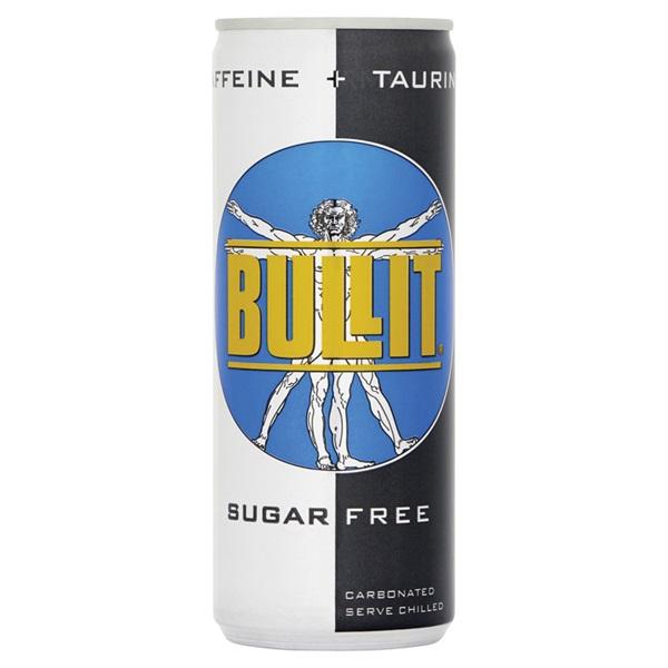 Bullit Energiedrank Sugar Free voorkant