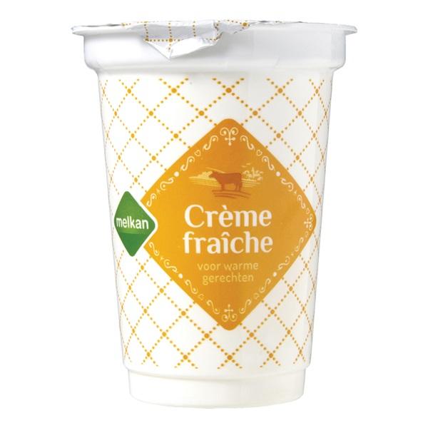 Melkan crème fraîche voorkant
