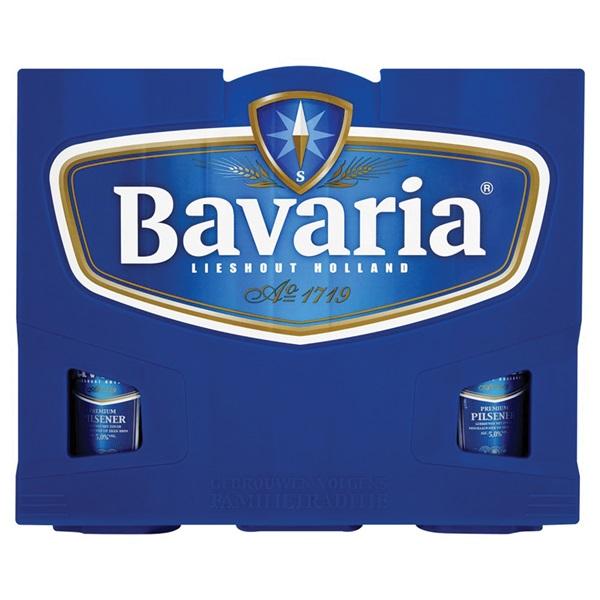 Bavaria Pils Krat  12X30 Cl voorkant