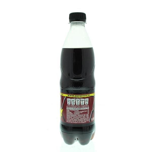 Dr Pepper Frisdrank achterkant