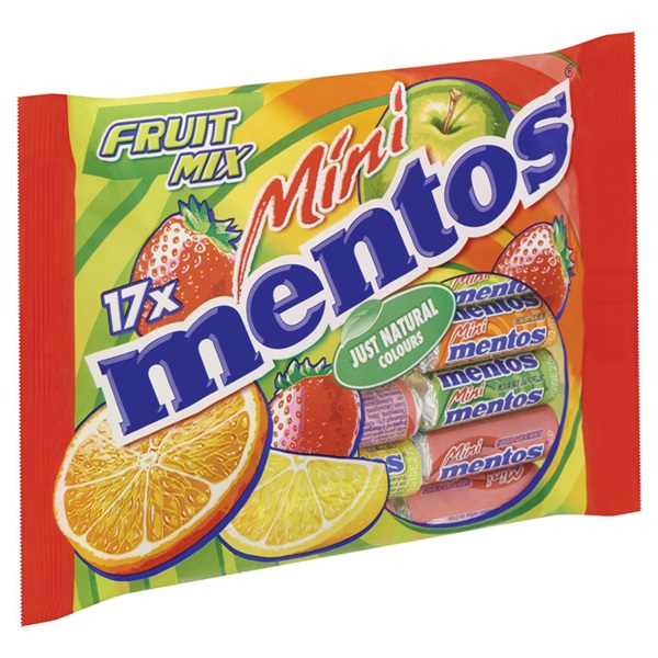 Mentos Mentos Mini achterkant