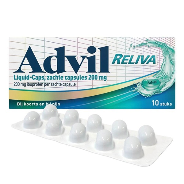 Advil Liquid caps 200 mg voorkant